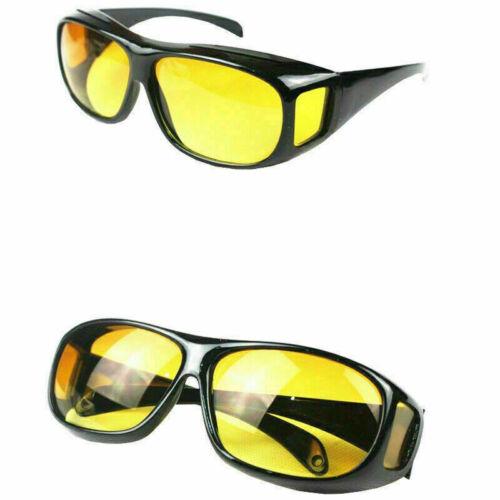 Eyestrain Sunglasses HD Night Vision Wrap Around Sun Glasses Over Prescription