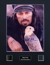 Oded Fehr Signed Photo Film Cell Presentation