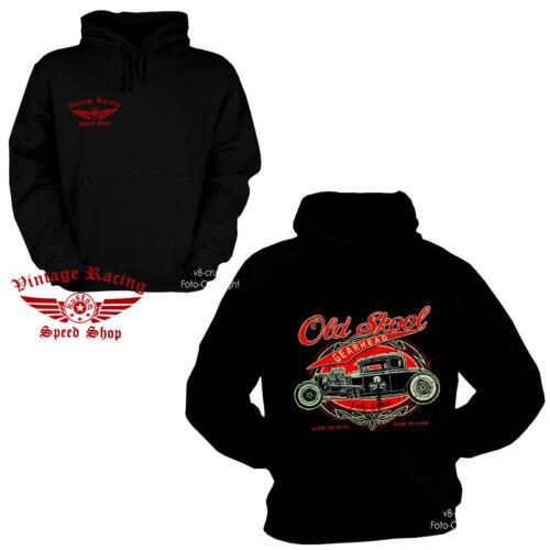 1277 Speed Hot Rod Kustom Shop Oldtimer Racing Capuche Sweatshirt Hoodie