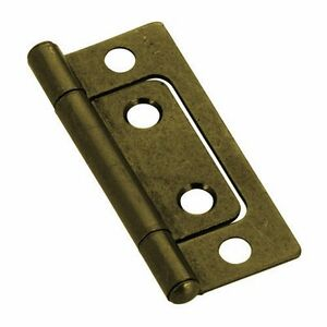 About Non Mortise Antique Brass 2 Hinge Old Fashion Look For Cabinets