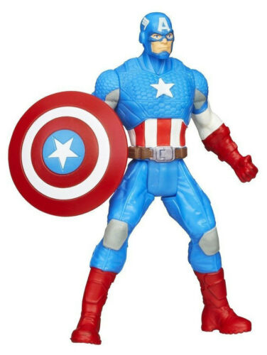 AVENGERS ASSEMBLE ALL-STAR BATTLE SHIELD CAPTAIN AMERICA ACTION FIGURE