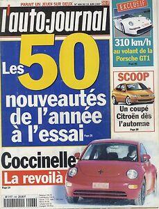 L-039-AUTO-JOURNAL-1997-n-466-VW-Coccinelle-Golf-Porsche-GT1-Citroen-ZX