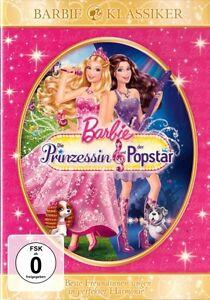 barbie in die prinzessin und der popstar dvd neuovp   ebay