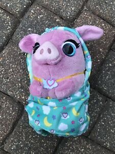Precious The Panda Kid Toy Gift Cuddle and Wrap Plush Disney Jr T.O.T.S