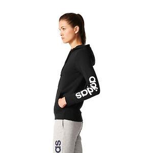 Caricamento dell immagine in corso Adidas-Donna-Felpa -con-Cappuccio-Training-Essentials-Linear- ebb96545b307
