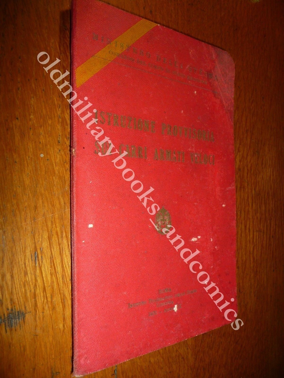 nueva marca ISTRUZIONE PROVVISORIA PROVVISORIA PROVVISORIA SUI CocheRI ARMATI VELOCI CV33 POI L3 33 EDIZIONE 1931 RARO  descuentos y mas
