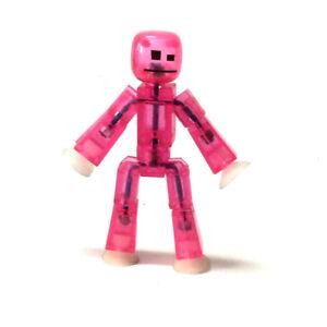 Zing-Stikbot-Robot-ANIMATION-Pink-Animal-Pet-3-034-Single-Cute-Figure-Kid-Toy-Doll