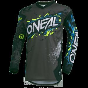 O-039-Neal-2019-Element-Villain-Jersey-Gray-Motocross-Off-Road-Dirt-Bike