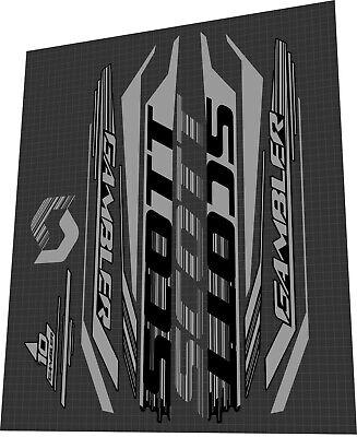 Scott Scale 950 Sticker Set.