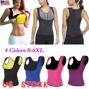 a1a38a78577f9 US Hot Sweat Sauna Body Shaper Women Slimming Vest Thermo Neoprene ...