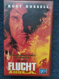 Flucht-aus-L-A-1996-VHS-guter-Zustand-97-Min-Kurt-Russell-Peter-Fonda