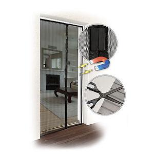 magnetvorhang fliegengitter insektenschutz fliegen schutz m ckennetz balkont r ebay. Black Bedroom Furniture Sets. Home Design Ideas