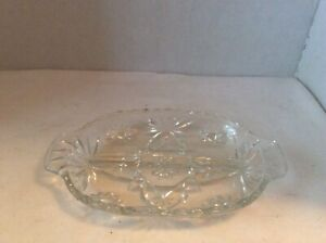 Vintage-Etched-Crystal-2-Section-Dish