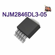 NJM2846DL3-05 NJM2846DL3-05-TE1 NJM2846 LDO Voltage Regulator 5V 0.5A TO-252-5