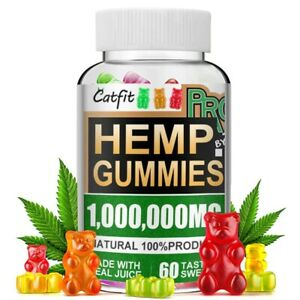 Natural Gummies For Stress Pain, Relief Anxiety Insomnia Great Sleep Vitamins