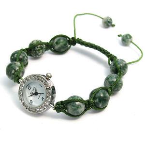 ECHO-Beautiful-Semi-precious-Shamballa-Style-Watch-and-Bracelet-Set-no-3