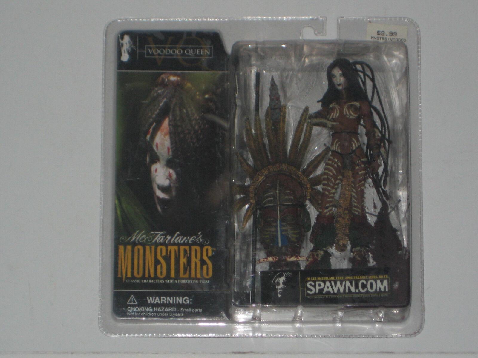 Spawn Mcfarlane Nuevo-Voodoo Queen-Monstruos Serie 1 Raro Variante sangrientos