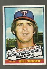 1976 Topps Bill Singer #411T NM MINT