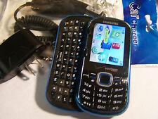 GOOD!!! Samsung Intensity II 2 U460 Blue Camera QWERTY Slider VERIZON Cell Phone