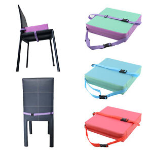 Details About Children Highchair Pad Baby Booster Seat Cushion Removable Kids Dining Chair Uk