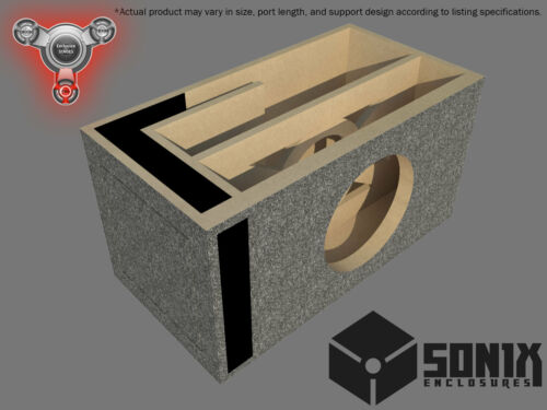 PORTED SUBWOOFER MDF ENCLOSURE FOR ALPINE SWR-12 SUB BOX STAGE 2