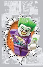 POSTER BATMAN THE DARK KNIGHT RISES IL CAVALIERE OSCURO JOKER DC LEGO #1
