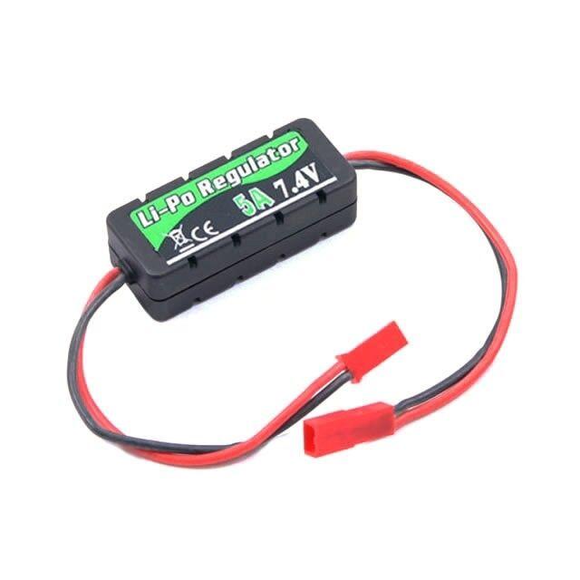 Etronix LiPo Battery Regulator 7.4v 5A with Casing 20x14x49mm - ET0557