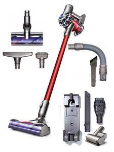 dyson v6 total clean cordless vacuum cleaner seller refurbished ebay