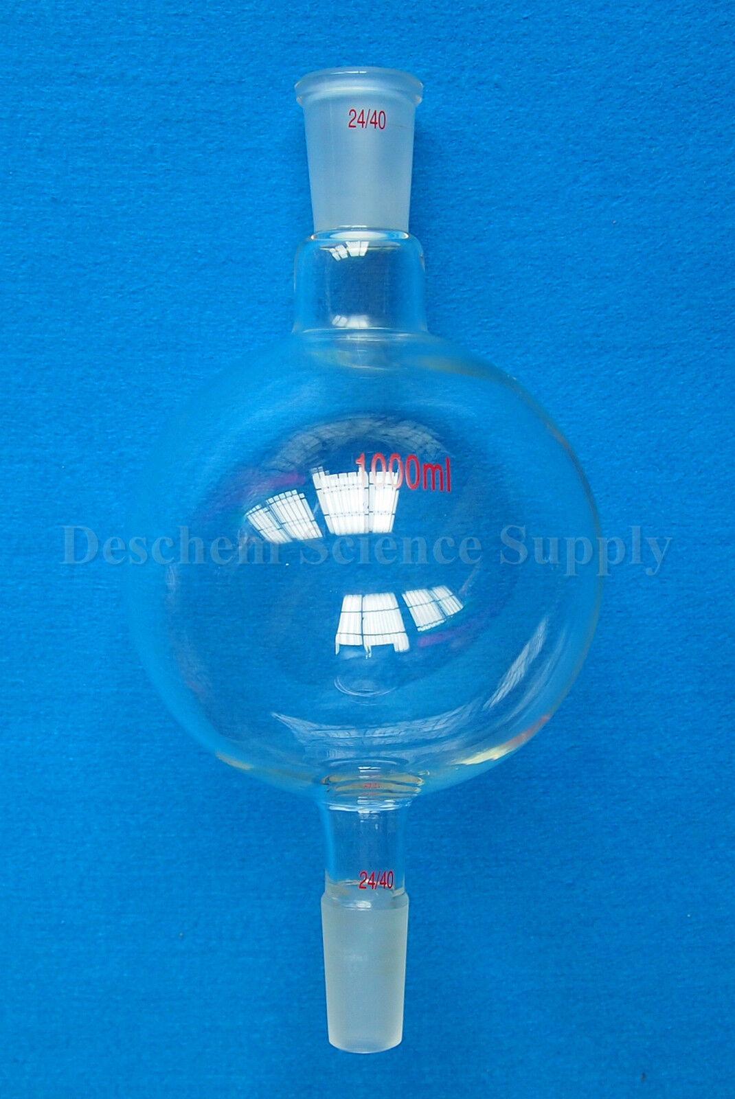 1000ml,24/40,Chromatography Reservoir Glass Flask,1 Litre,My-Glassware 2