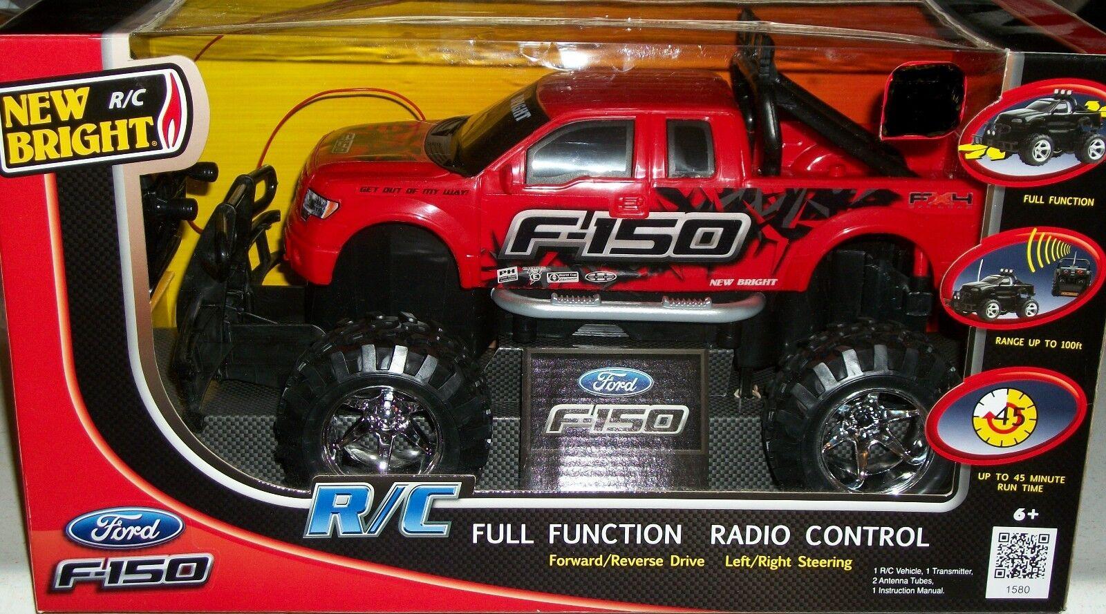 Ford F-150 R C Helfunktionsstyrd radio Pickup Remote leksaksbil Xmas