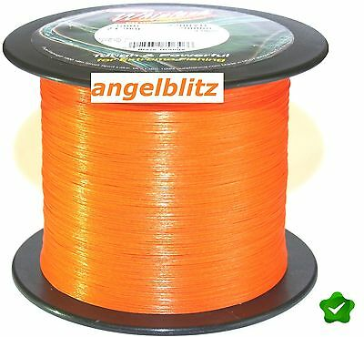 BERKLEY WHIPLASH BLAZE ORANGE/ 50m bis 2000m /+TOP+ rund geflochtene Angelschnur