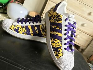 size 40 c67a3 45049 Image is loading ADIDAS-SUPERSTAR-35th-ANNIVERSARY-Andy-Warhol-s-TRAINERS-