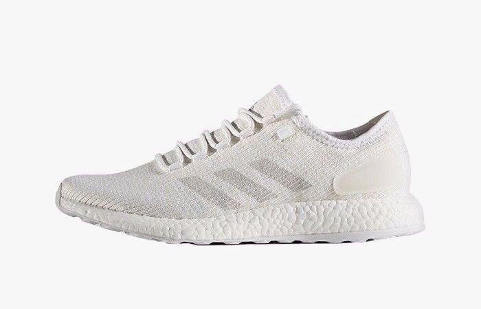 adidas PureBOOST Clima homme7 EU EU EU 40 2/3 blanc fonctionnement chaussures Trainers BA9058 d97be6