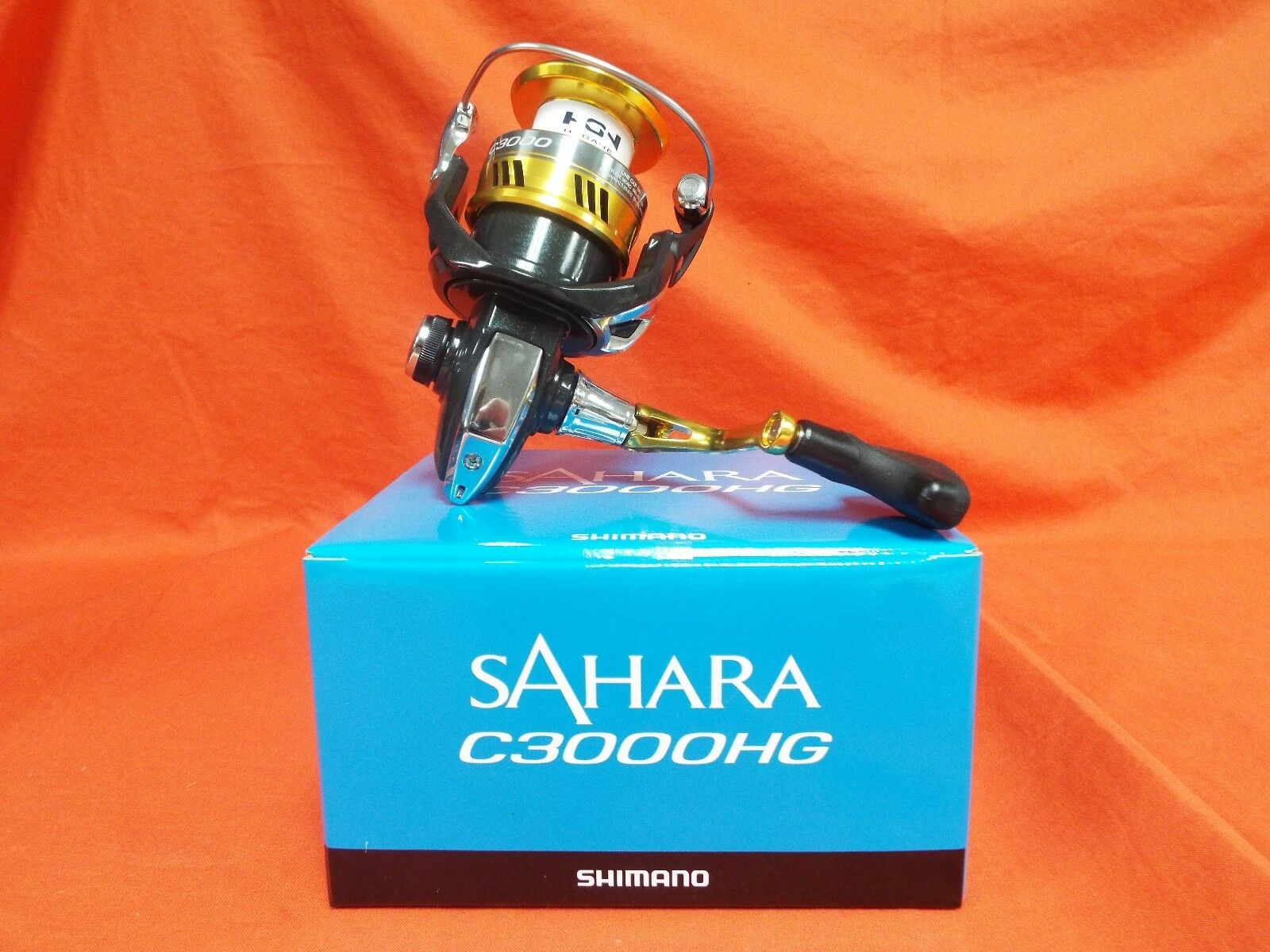 SHIMANO Sahara C3000 HG Spinning Reel 6.2 1 Gear Ratio  SH-C3000HGFI