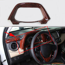 1PCS Chrome Dashboard Fanel decorative frame Trim for Toyota RAV4 2014 - 2015