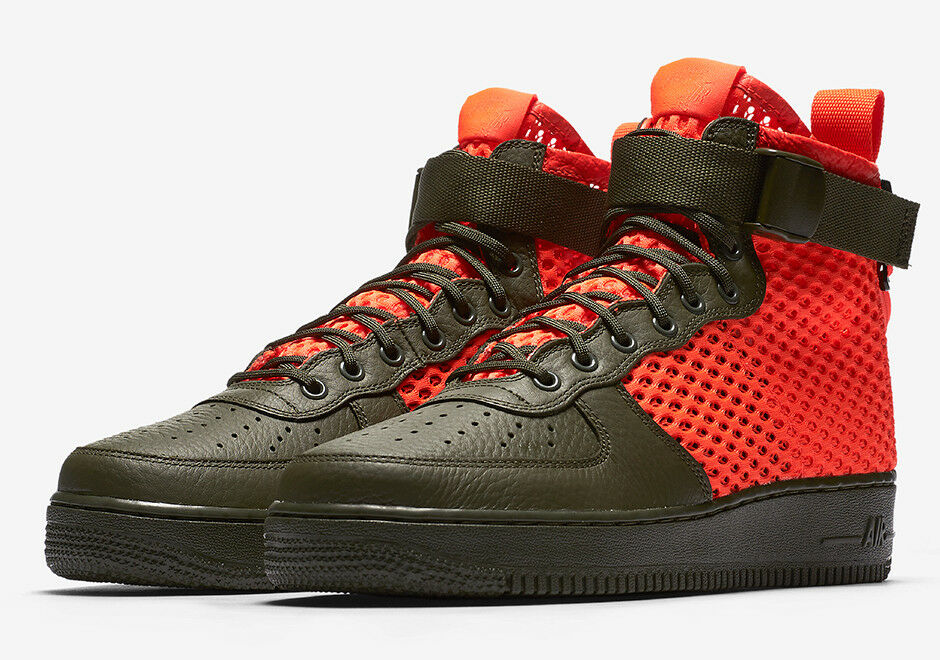 170 NIB Men's Nike SF AF1 MID QS AIR FORCE Boots Shoes AA7345 300
