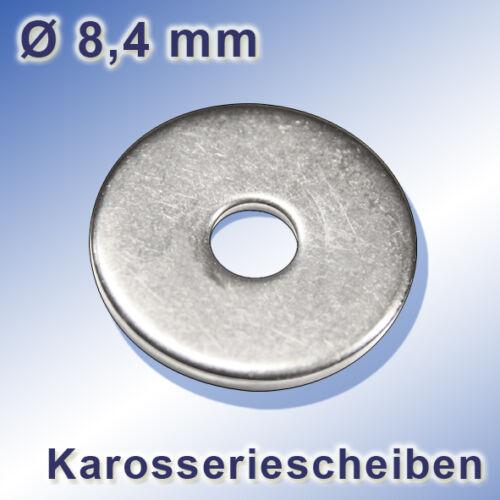 U-Arceau m8 x 100 mm ronds Arceau a2 Acier Inoxydable Inoxydable Rondelles mère