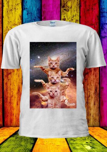 Cats Are Dancing In Space Kitten T-shirt Vest Tank Top Men Women Unisex 1950