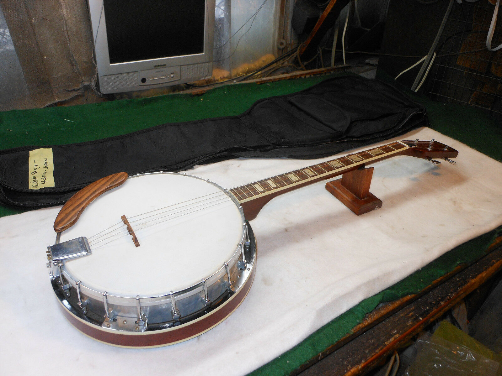Ariana  Banjo  4  String  1960's Super Quality Made In Japan....