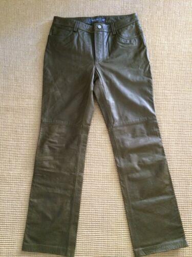 Taille Gap Leather Pants 10 Women qfwxXgxz