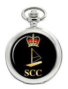Sea-Cadets-SCC-Windsurfing-Badge-Pocket-Watch