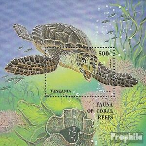 Unmounted Mint Never Hinged 1995 Seafood Excellent Quality Cooperative Tanzania Block280 complete.issue.
