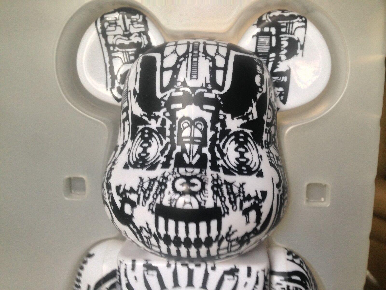 Be@rbrick H.R. Giger 400% bearbrick Kaws Kaws Alien Supreme bape