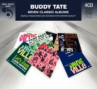Buddy Tate Seven (7) Classic Albums Very Saxy Groovin' With Let's Jam 4 Cd