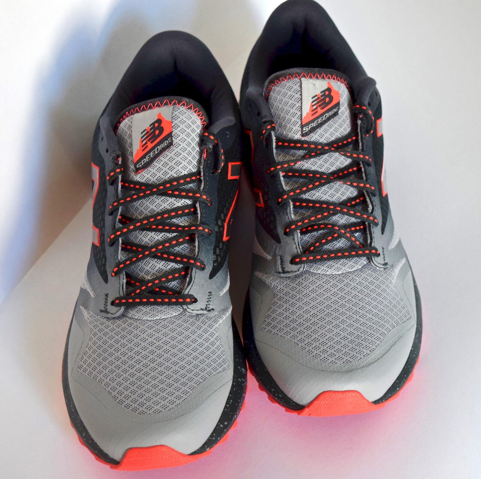690 en speedride New Balance Todo Terreno Trail Running Zapatos para hombre Sz-11.5 - gris
