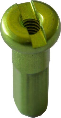 Alunippel für 2,0 mm Speichen Länge 14 mm in diversen Farben und Mengen