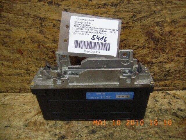 366818 Unidad de Control ABS Mercedes-Benz Clase C (W202) 0125457432 0265101040