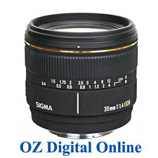 New Sigma 30mm F1.4 EX DC HSM for Canon 1 Year Au Wty
