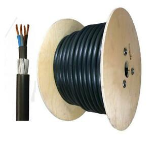 Wondrous 1 5Mm 4 Core 50 Meter 6944X Pvc Steel Wire Armoured Cable Swa Wiring Digital Resources Funapmognl