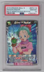 DRAGON BALL SUPER DRAGON RADAR NEAR MINT BT5-116 R